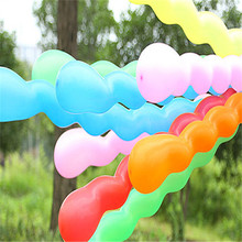40PCS Screw Twisted Latex Balloon Wedding Latex Long Modeling Balloon Spiral Birthday Party Decor Balloon Inflatable Toys(China)