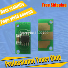 replace TNP48 K C M Y toner cartridge chip for Konica Minolta Bizhub C3850 3350 Developineo 3350 3850 color powder refill reset