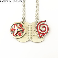 FANTASY UNIVERSE Free shipping 20pcs a lot naruto necklaces HDNCNA03(China)