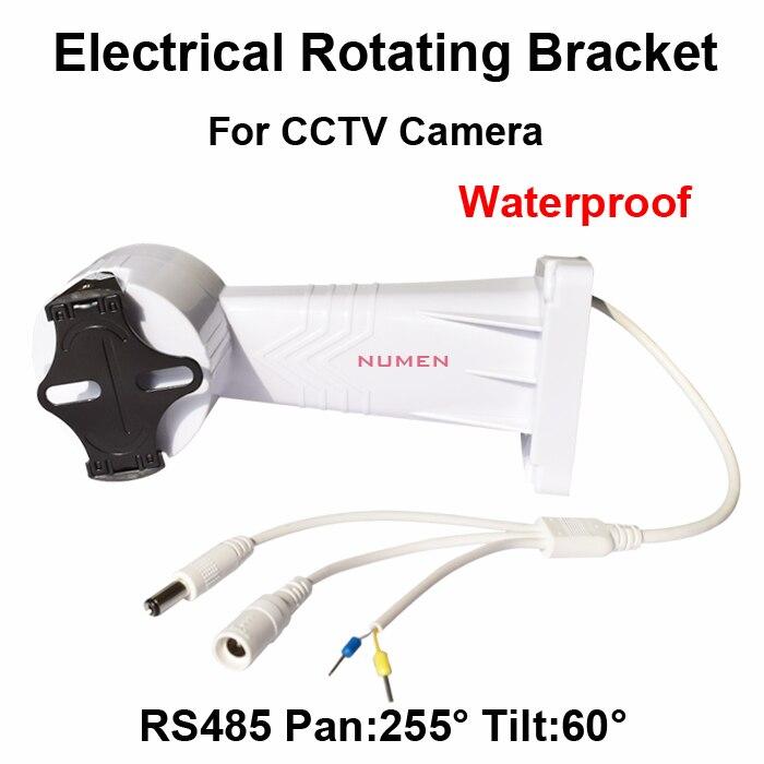 2014 New CCTV PTZ Bracket Electrical Rotating Bracket Wall Mount installation for cctv camera Adjustable rotation holder RS485<br>
