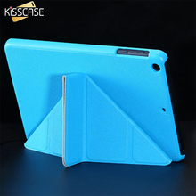 KISSCASE Luxury Matte Magnetic Flip Leather Case For iPad Mini 1 2 Retina 3 Stand Smart Sleep Wake Cover For iPad Mini 1 2 Cases