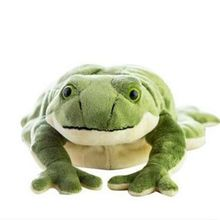 CXZYKING Simulation Animals Plush Toy 60cm Simulation Animals Plush Toy Cartoon Green Frog Stuffed Doll Children Birthday