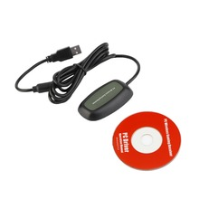 USB 2.0 PC Wireless Controller Gaming USB Receiver Adapter For Microsoft for XBOX 360 with CD
