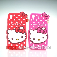 For HTC Desire 626 626w 626D 626G 626S Case 3D Lovely Cute Hello Kitty Kt Cat Silicon Back Case Soft Cover Phone Case