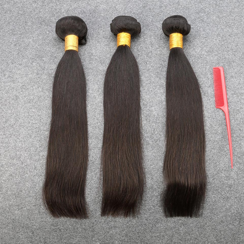 Peruvian Virgin Hair Straight Virgin Human Hair Weave Bundles 3PC Rosa Hair Products Peruvian Straight Virgin Hair Bundle Deals<br><br>Aliexpress