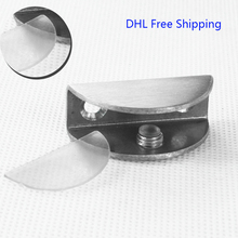 100Pcs/lot DHL Free Shipping Stainless Steel Glass Hinge Bathroom Cabinet Door Hinges Clamp 11 to 13mm Wholesale Cheap Price