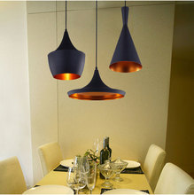 Copper Shade Pendant Lamp Beat Light 3 pcs/ pack Pendant Light Factory Price Fashion Design for Living Dining Room Bedroom