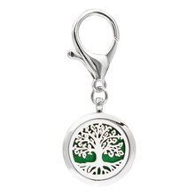 Buy Tree life Key Chain 5 Pads Aroma locket essential oil Locket Perfume Diffuser Heart shape Lobster clasp Key ring for $2.56 in AliExpress store