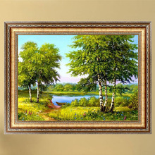 1PC DIY 5D Diamond Painting Landscapes Forest DIY Cross Stitch Decor Diamond Embroidery Broderie Diamant Embroidery Beads