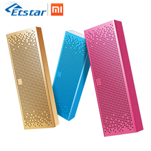 Original Xiaomi Bluetooth Speaker Square Box Mini Wireless Metel Stereo Portable MP3 Player Handsfree Bluetooth 4.0 for Xiaomi(Hong Kong,China)