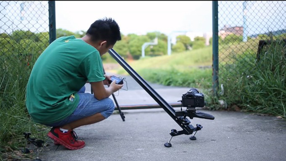 Westage II 100 120 150 cm professional Electric Control timelapse DSLR camera motorized slider with Track dolly rail 2