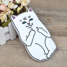 Soft Silicone gel Case For Samsung Galaxy S3 SIII Cat Cartoon Painting Cover For Samsung Galaxy S3 i9300 9300 Phone Bags & Cases