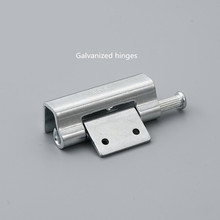 CL237 zinc plated hinge, electroplating electric cabinet, door hinge, hardware fittings, custom made, excellent quality(China)