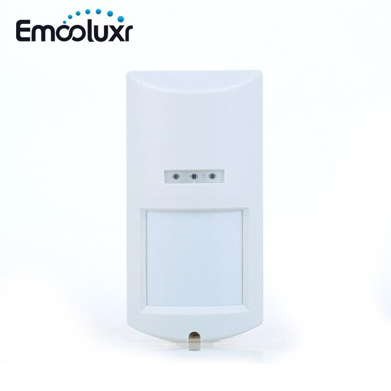 Wireless 4-Element Pet Friendly Outdoor PIR Motion Sensor for WIFI GSM Alarm G90B PLUS, Sensitive Low Power Consumption Sensor<br>