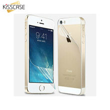 KISSCASE i5 SE Full Body HD Clear Screen Film For  iPhone 5 5S 5C SE 5 Front + 5 Back Guard Screen Protector For iPhone 5S SE