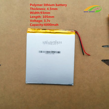4594105 3.7V 6000mah Lithium polymer Battery with Protection Board For Tablet Onda V971VI30 Teclast P88 Vido N88 CUBE U35GT