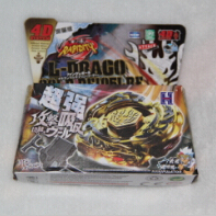 4D hot sale beyblade 1pcs Beyblade Metal Fusion 4D set L-DBAGO GOLD DF105LRF kids game toys beyblades metal fusion beyblade Chri