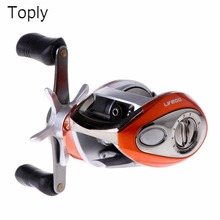 TOPLY Right or Left hand Baitcasting Reel 12+1BB 6.3:1 Bait Casting Fishing Reel Magnetic brake Water Drop Wheel Coil