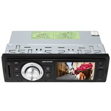 MP3 Audio Player Car Stereo FM Radio with U Disk / SD Port with Off Time Display Function AV286 12V Vehicle Electronics In-dash