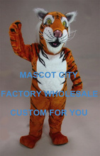 Striped Tiger Mascot Adult Size Character Wild Animal Beast Theme Mascotte Mascota Outfit Suit Kit Fit Carnival Cosply SW1087