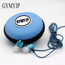 2017 hot new Rani resistant Long braided wire MP3 earphone ear earbud headset phone computer Universal Subwoofer