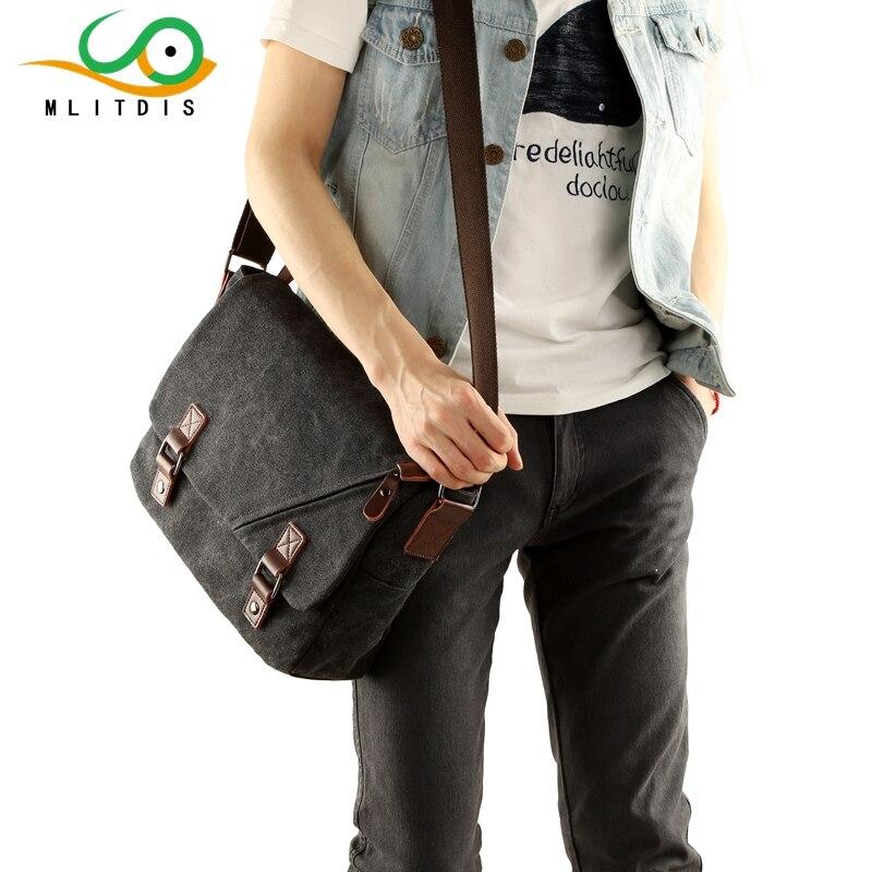 MLITDIS Retro Travel Bags Canvas Bag Men Casual Vintage Multifunction Trunk Mens  Messenger Bag Shoulder Bags For Men Crossbody<br>