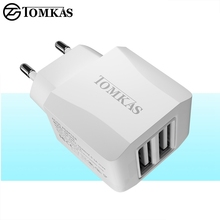 Buy Tomkas Universal USB Charger Phone Travel Fast Charging EU Plug Wall Charger USB Adapter Mobile Phone Charger NEW SYLE for $3.99 in AliExpress store