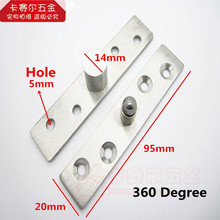 High Quality Stainless Steel 360 Degree Door Hinge Install Pivot Hinge Up and Down For One Set(China)