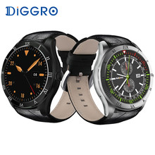 Diggro DI05 Smart Watch Android 5.1 BT4.0 1.3GHZ Quad Core 512MB+8GB Support 3G NANO SIM Card WIFI GPS 1.39inch For Android iOS(China)