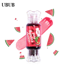 UBUB 5 Colors Matte Fruity Lip Gloss Moisturizing Waterproof Candy Fresh Velvet Liquid Lipstick Easy to Wear Makeup Lip Tint(China)
