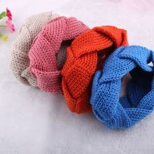 Handmade Womens Crochet Headband Twist Knit Headwrap Winter Hair Band Warmer