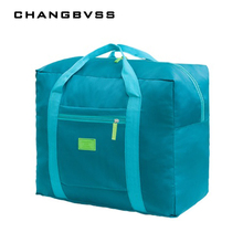 32L Waterproof Oxford Luggage Bag Large Capacity Clothes Storage Bag For Travel Home Travel Organizer Portable Suitcase bolsa(China)