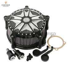 Black Contrast Cut Motorcycle Air Cleaner Filter case for Harley Davidson XL Sportster 1991-2014 2006 2007 2008 2009 2010 2011