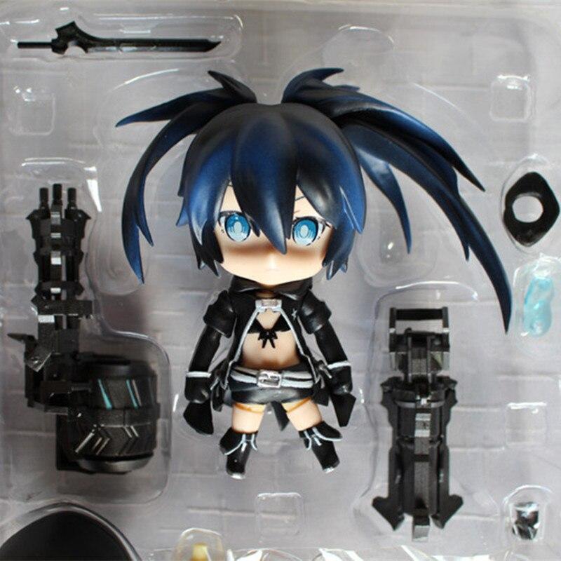 Anime figure Black Rock Shooter Blackening PVC action figure Hatsune Miku Q Edition Hatsune Collection model RETIAL JK-L00066<br><br>Aliexpress