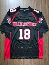 EJ Paul Crewe #18 American Football Jersey Mean Machine The Longest Yard Movie
