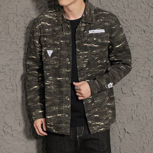 Army Military Cargo Jacket Men New Spring Autumn Winter Cotton Jacket New 2017