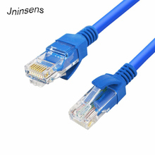 High Speed Durable Blue RJ45 For CAT5E For CAT5 Ethernet Internet Network Patch LAN Cable Cord For Computer Laptop(China)