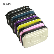 SUMPK 158x100x46mm Storage Cases Colorful Portable Digital Accessories Carry Bags for Mobile Phone/Power bank/HDD/Cameras/MP3(China)