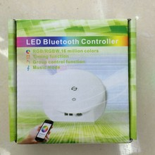NEW UFO Bluetooth RGB RGBW led controller 12-24V IOS/Android Timing function,group control,music mode,16million colors