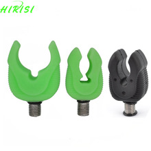 Fluorescent Rubber Butt Rests Rod Pod Rest Gripper Rod Rest Heads Carp Rod Rests Grippers Butt Grips(China)