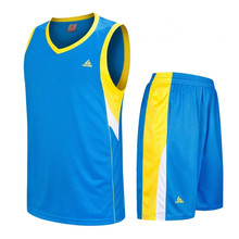 2017 New Kids Basketball Jersey Sets Uniforms kits Child Sports clothing Breathable Youth basketball jerseys shorts DIY printing(China)