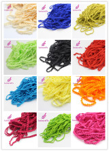 Lucia crafts 2yards/lot 10mm Width Pom Pom Trim Ball Fringe Ribbon DIY Sewing Accessory Lace 17011001(10D2y)