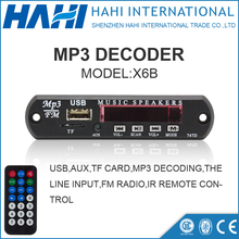 DC 5V 12V Micro USB Power Supply TF Radio MP3 Decoder Board 5V Audio Module Car Remote Music Speaker