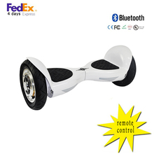China Dropship 10inch electric hoverboard two wheel smart balance electric scooter hoverboard Bluetooth