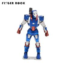 Finger Rock Iron Man Puzzle 3D Metal Model The Avengers DIY Stainless Steel Color War Machine Jigsaw Toys for Children Adult