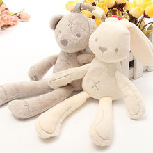 Baby Infant Plush Musical Easter Rabbit Development Toys Baby Girl Boy Bear Cute Animals Toy