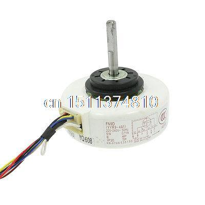 AC 220/240V 9W 8mm Shaft Dia Fan Micro Motor for Air Conditioner<br>