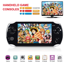 5 inch HD screen Portable Multimedia Player 8GB Handheld game consoles MP3 MP4 player gamepad Digital Video Camera e-books(China)