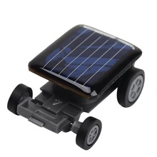 2017 Hot Selling Mini Solar Power Car Toys Cool Children Toy Smallest Racer Car Children Educational Gadget Toy Gift H20(China)