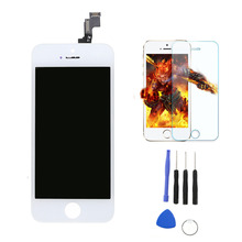 lcd display touch screen digitizer replacement parts for phone+tempered glass+free tools